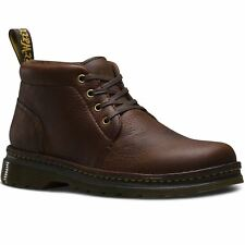 Dr.Martens Lea Dark Brown Mens Leather Chukka Boots