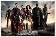 Justice League Characters Poster New - Maxi Size 36 x 24 Inch