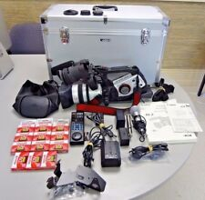 Canon XL2 3CCD MiniDV Camcorder 20x Fluorite Zoom Lens and Accessories