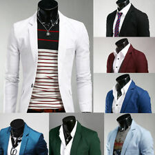 New Men Fashion Leisure Cultivate One's Morality Personality Small Suit Jacket 8