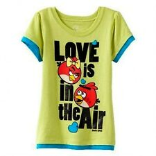 NWT ☀ANGRY BIRDS☀ Girls t-shirt   LOVE IS IN THE AIR  New  YOU PICK  3T  4T