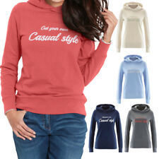New Women Letter Print Suede Hooded Sweatshirt Casual Hoodie Pullover Base Tops