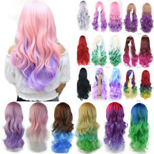 Full Wig Anime Party Fancy Costume Cosplay Real Thick Heat Resistant Synthetic H