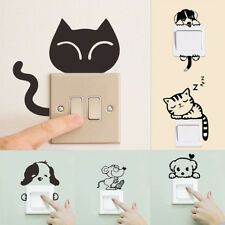 Removable Art Vinyl Quote DIY Cat Dog Wall Sticker Decal Mural Home Room SwitchH