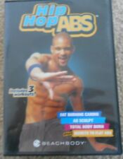 Hip Hop Abs Shaun T 4 Workouts 2 DVDs + Fat Burning Cardio Ab Sculpt Flat Abs