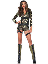 Goin Commando Military Army Soldier FBI Top Gun SWAT Women Costume