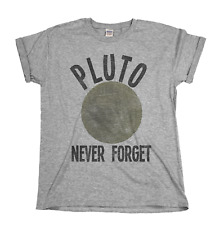 Pluto Never Forget Mens/Ladies T-Shirt Christmas Gift