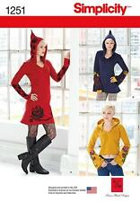 SIMPLICITY SEWING PATTERN Misses' Knit Dress, Tunic and Top size 4 - 20 1251