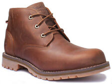Timberland A10Jd Men Leather Matt Waterproof Brown Chukka Boots