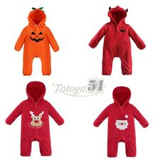 Baby Kid Autumn Winter Halloween Christmas Romper Jumpsuit One Piece Costume New