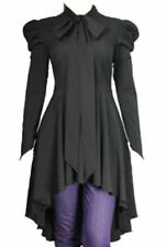 Goth Steampunk fishtail long top 10 12 14 16 18 20 22 Victorian inspired dress