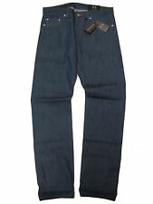 Armani Exchange A/X Mens Selvedge Denim Straight Leg Low Rise J66 Pants Jeans