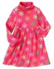 NWT Gymboree Girls Cheery All The Way Pink Snowflake Dress Size 3 5