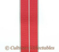 19c. British Empire Medal / BEM Ribbon (Military 1937) – Full Size