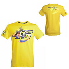 VALENTINO ROSSI VR.46 MENS 46 SUN AND MOON T-SHIRT TEE MOTOGP SIZES L & XL ONLY