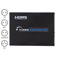 Scart to HDMI Converter Scaler for Video YC RGB HDTV Audio1080P DC 5V
