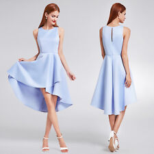 High-Low Bridesmaid Dresses Sleeveless Cocktail Party Dress 05892 Ever Pretty