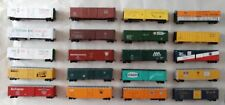 HO Scale 50' Steel Boxcars & Reefers- Nice Quality- Variation Listing