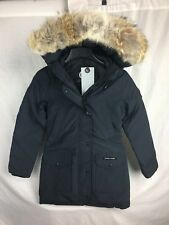 NEW CANADA GOOSE TRILLIUM NAVY WOMENS 2506L DOWN COYOTE AUTHENTIC
