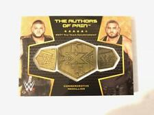 2017 Topps WWE Then Now Forever Championship Medallion Bronze Pick From List