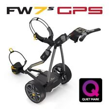PowaKaddy FW7s GPS Electric Trolley with a Free Golf Bag and Accessory