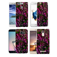 Purple Flower 3D Print Case Cover for iPhone (10) 8 Samsung Galaxy S8 Pretty