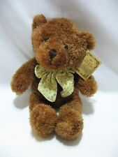 Russ Boo Crew Bears Wellesley Teddy Brown Plush Soft Stuffed Animal Toy 13""