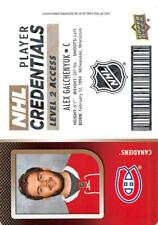 2017-18 Upper Deck MVP NHL Player Credentials Level 2 Access Pick From List