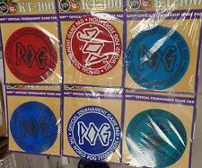 World Pog Federation Official KT-100 Tournament Game Pad Red, Teal or Blue New