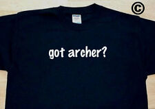 got archer? FAMILY TREE REUNION LAST NAME SURNAME T-SHIRT TEE FUNNY CUTE