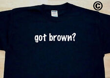 got brown? FAMILY TREE REUNION LAST NAME SURNAME T-SHIRT TEE FUNNY CUTE