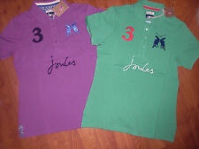 BNWT LADIES JOULES BEAUFORT CLASSIC FIT SPRING GREEN POLO TOP SHIRT SIZE 10.
