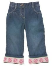 NWT Gymboree Girls Winter Ballerina Embroidered Hem Jeans Size 2T