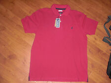"""BNWT MENS JOULES WOODY CLASSIC FIT POLO SHIRT DARK RUBY SIZE M OR 38-40"""" rrp £35"""