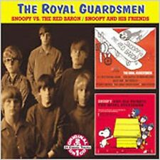 THE ROYAL GUARDSMEN - Snoopy Vs. The Red Baron / Snoopy & His Friends New Sealed
