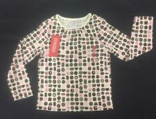 NWT Gymboree Girls Sweeter than Chocolate Ivory Chocolates Top Size 5