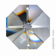 "Crystal "" Octagon Star "" Quality 10mm-36mm 2 Hole Crystal K9 ~ CHANDELIER LUSTRE"