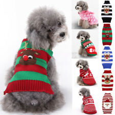 1PC New Various Styles Pet Sweater Knitted Casual Warm Dog Cloth Small Dogs Coat