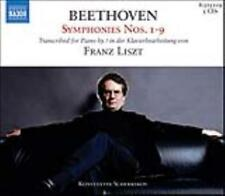 BEETHOVEN SYMPHONIES NOS. 1-9 TRANSCRIBED BY LISZT [BOX SET] USED - VERY GOOD CD