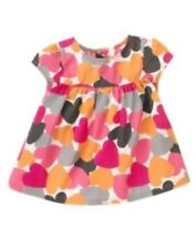 NWT Gymboree Panda Academy Hearts Swing Top Size 3-6 6-12 12-18 18-24 M