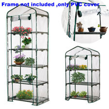 4-Tier Garden Warm Greenhouse Green House Flower Plant House Shed Storage Cover