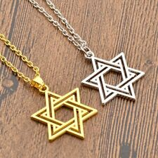 Men/Women Charm Necklace Hollow Star Pendant Necklace Chain Statement Jewelry