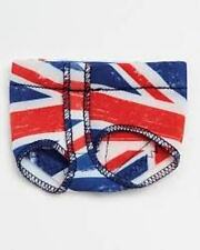 Foot Undeez Capezio British Flag design, H07GS, Sev Sizes NIB!