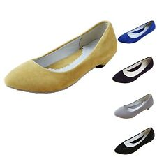 Pretty Pointed Toe Office Work Fashion Low Heel Ballet Flats Flats AU 4-10