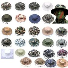 28 Styles Camo Pattern Fishing Bucket Fisherman Hat Military Hunting Outdoor Cap