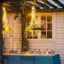 1/2/4/8X LED Fairy Lights Indoor/Outdoor String Lighting Xmas Christmas Party