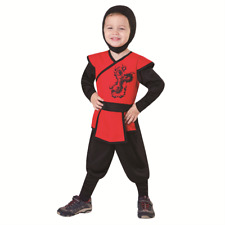 NEW KIDS BOYS TOTALLY GHOUL LIL' NINJA HALLOWEEN COSTUME TODDLER SIZE 4T-6T