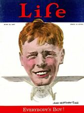 Life Magazine Cover: 1927 Flagg - Everybody's Favorite Boy