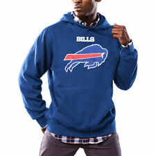 Buffalo Bills Majestic Critical Victory Pullover Hoodie - Royal