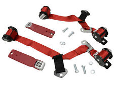 1974-1977 Corvette Coupe Direct Fit Seat Belt Red